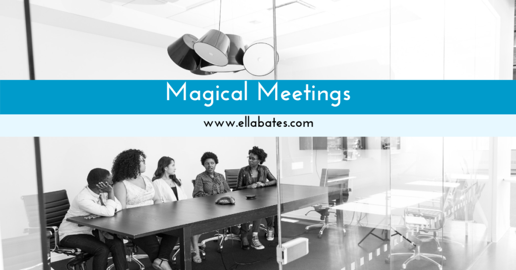 Are your meetings effective?  Have high impact?  Structured?  Engaging?